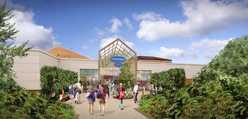 proposed design 1 the markets retail extension carlton lanes shopping centre castleford base 1 architects